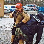 Chris Caracci training camo