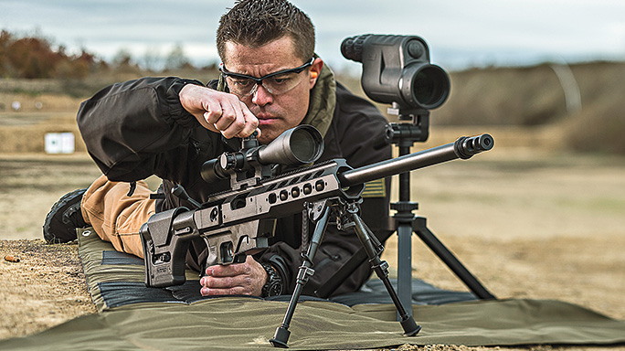 Remington Model 700 TAC21 Chassis field