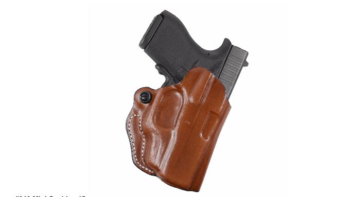 DeSantis Mini-Scabbard Glock 43 Crimson Trace LG-443