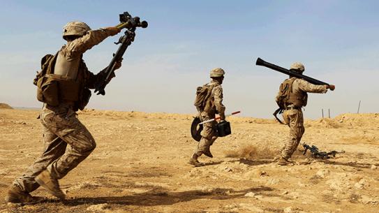 Marines M252A2 Lightweight 81 mm Mortar System