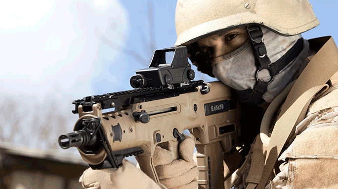 Israel Defense Forces Meprolight MEPRO M5 Red Dot Weapon Sight