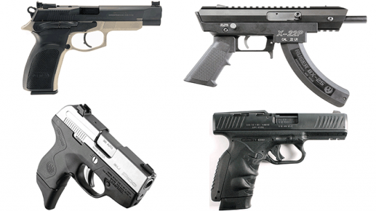 17 New Pistols For Compeition, Self Defense
