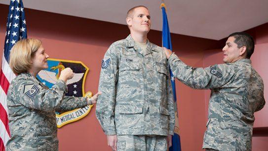 Spencer Stone Promoted Senior Airman