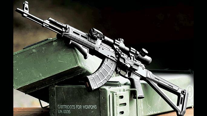 Destructive Devices Industries DDI-47 Rifle lead