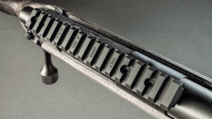 Colt M2012 LT308G Rifle rail