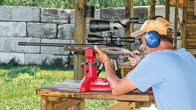 Colt M2012 LT308G Rifle range