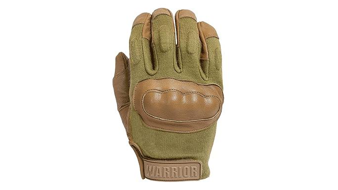Warrior Assault Systems Enforcer Hard Knuckle Glove coyote tan