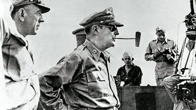 U.S. General Douglas MacArthur.