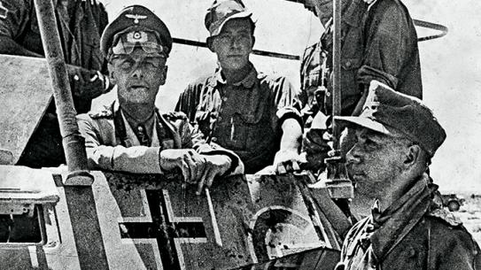 Rommel reup Axis Leaders