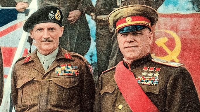 Montgomery Zhukov Allied reup