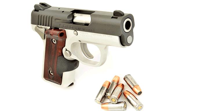 Combat Handguns 2015 KIMBER SOLO CRIMSON CARRY 9MM