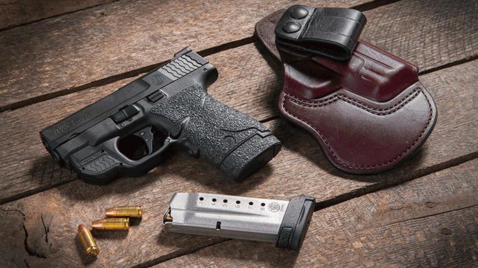 Combat Handguns 2015 SMITH & WESSON SHIELD
