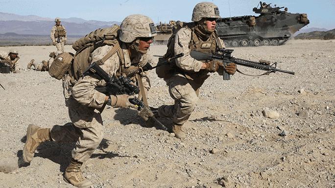2nd Battalion, 7th Marine Regiment Mechanized Assault