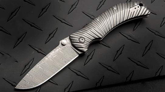 Wilson Combat ELC Elite Damasteel Knife titanium