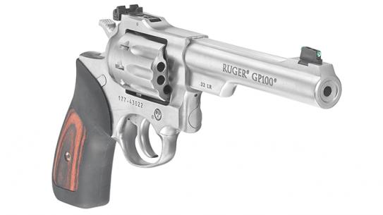 Ruger GP100 Revolver .22 LR lead