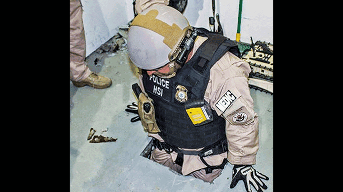 Immigration and Customs Enforcement Glock 26 tunnel