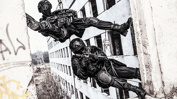 SWAT Suicidal EDP Knife Roof