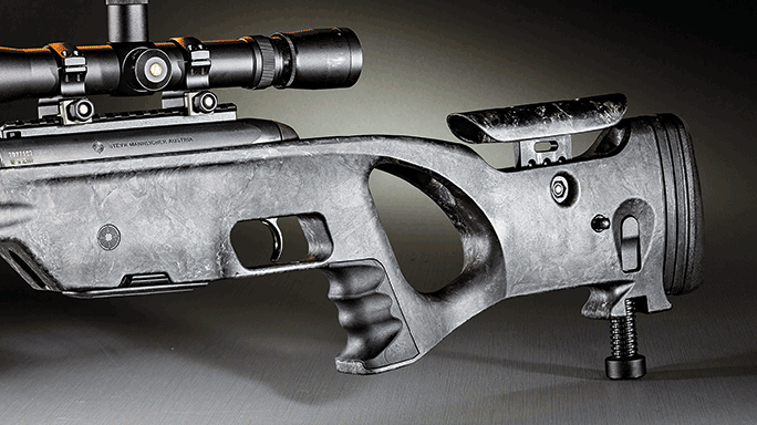 Steyr Arms SSG Carbon Bolt-Action Rifle stock