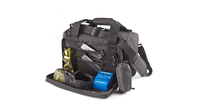 Wilson Combat Deluxe Range Bag open