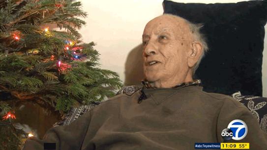 World War II Vet Christmas Surprise LAPD