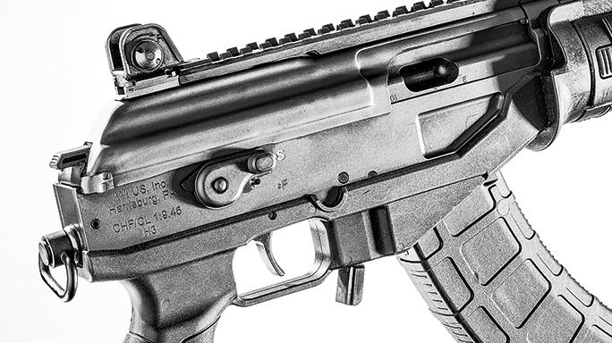 IWI Galil ACE GAP39 Pistol safety