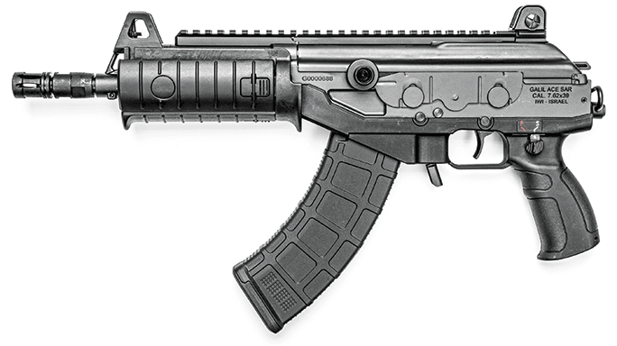 IWI Galil ACE GAP39 Pistol solo