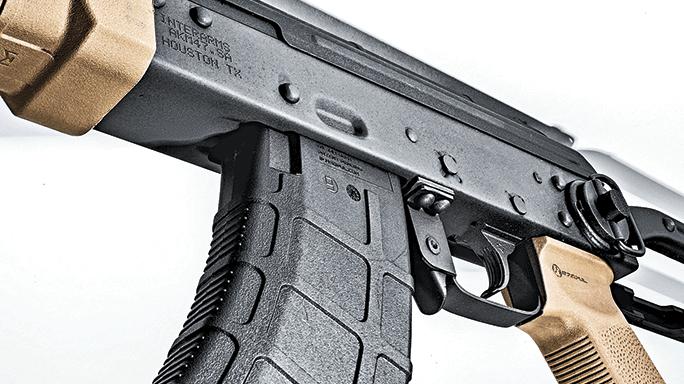 Interarms High Standard AK-T Rifle mag well