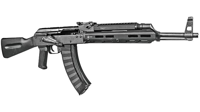 AK Rails 2016 TROY AK-47 Short Bottom Rail, M-LOK