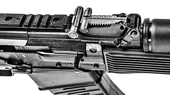 K-VAR VEPR-12 Semi-Auto Shotgun sight