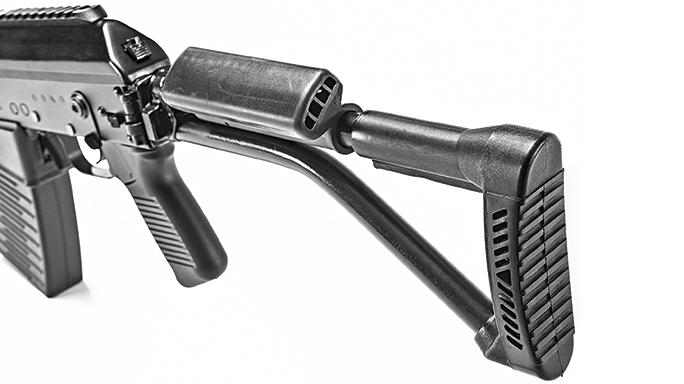 K-VAR VEPR-12 Semi-Auto Shotgun stock