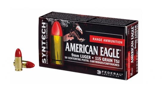 American Eagle Polymer-Encapsulated Syntech Ammo