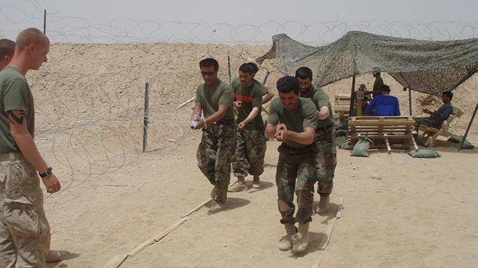 Second Platoon: Call Sign Hades training