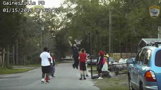 Gainesville Police Bobby White Basketball Shaq