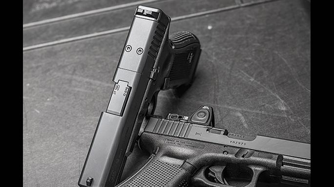 Glock New MVPs G17 Gen4 MOS G19 Gen4 slides