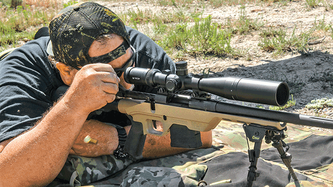 Mossberg MVP-LC Rifle test field