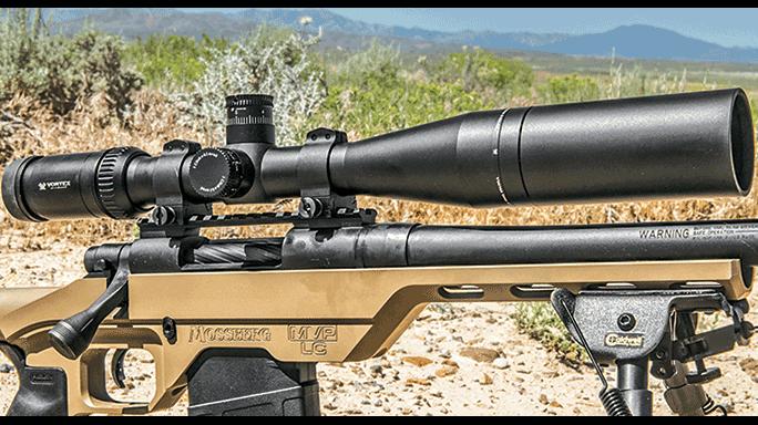 Mossberg MVP-LC Rifle test scope