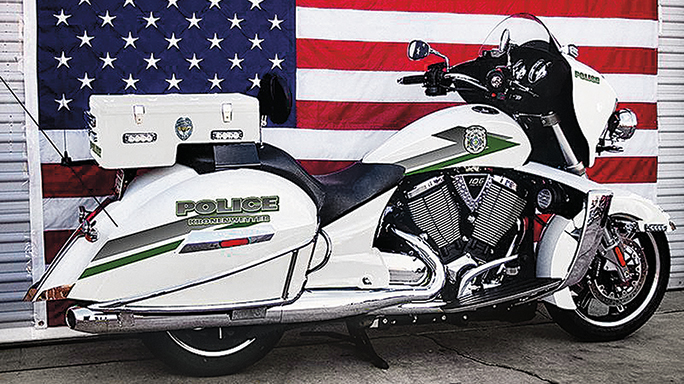 Hot Pursuit Motorcycles Victory