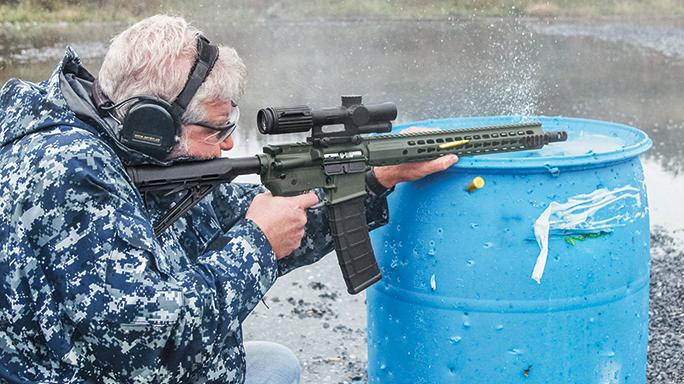 Gun Test Barrett REC7 DI Rifle 5.56mm lead