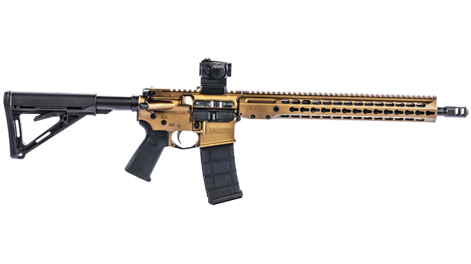 Gun Test Barrett REC7 DI Rifle 5.56mm solo