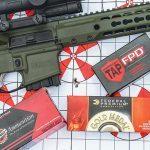 Gun Test Barrett REC7 DI Rifle 5.56mm target