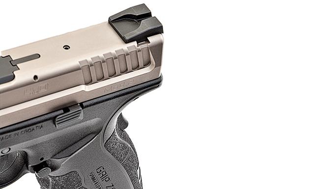 "Test Springfields 9mm XD Mod.2 4"" Service Model Pistol slide"