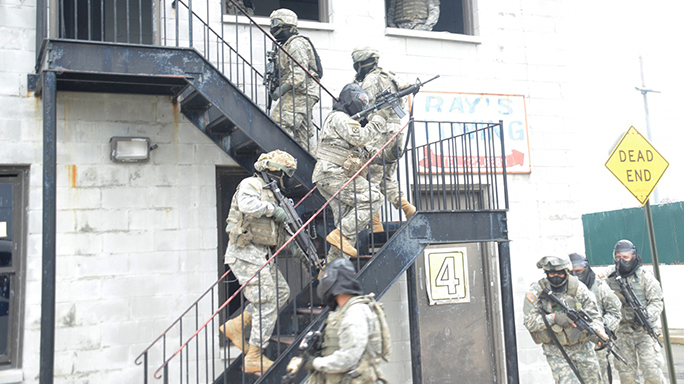 New York Army National Guard NYPD