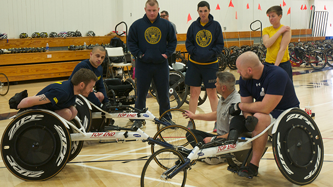 Navy Wounded Warriors Safe Harbor Adaptive Sports Camp