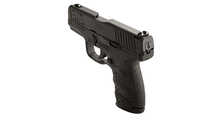 Walther PPS M2 9mm Pistol rear