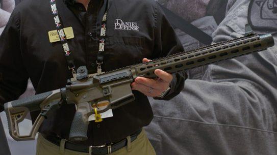 Daniel Defense DDM4 ISR Gen2 Integrally Suppressed Rifle SHOT Show 2016