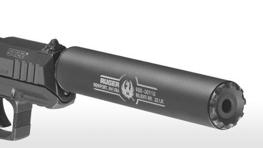 Ruger Silent-SR Rimfire Suppressor SHOT Show 2016