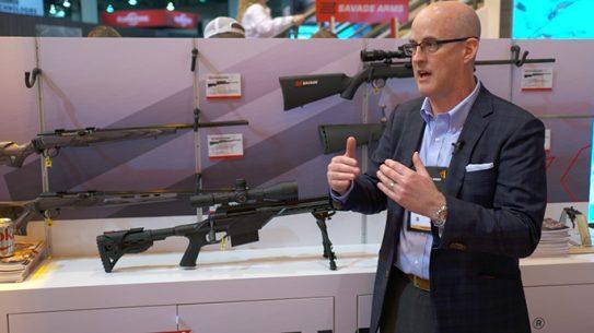 Savage Arms 110 BA Stealth Precision Rifle SHOT Show 2016