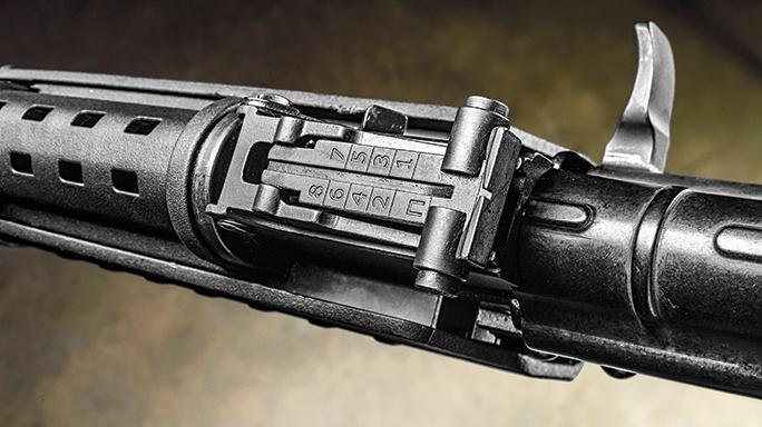 Palmetto State Armory PSAK-47 Test rear sight