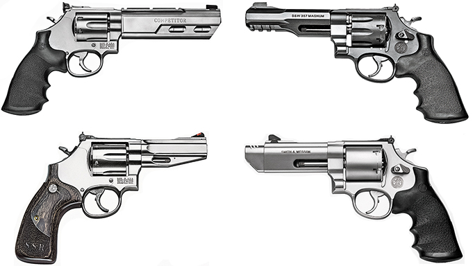 Reinventing the Wheel: 10 Elite Revolvers From Smith & Wesson