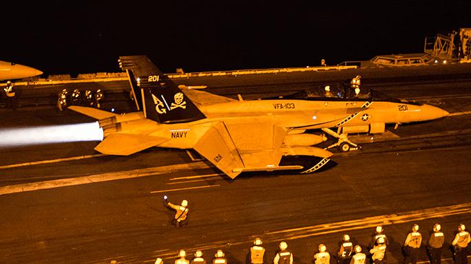 F/A-18F Super Hornet USS Harry S. Truman Operation Inherent Resolve